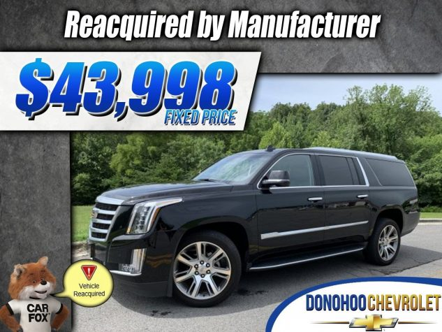 2016 Cadillac Escalade ESV Reacquired Luxury Collection 2WD 4dr Luxury Collection Gas V8 6.2L/376